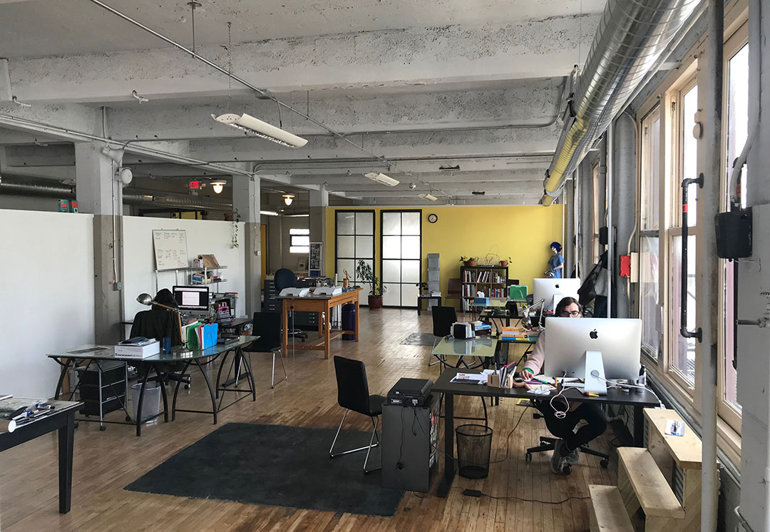 Downtown Buffalo, New York, OtherWisz Creative, Office, Move