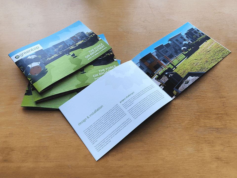 The Greentop Case Study Booklet highlights the work our client did on The Forge on Broadway Green Roof in Buffalo, NY
