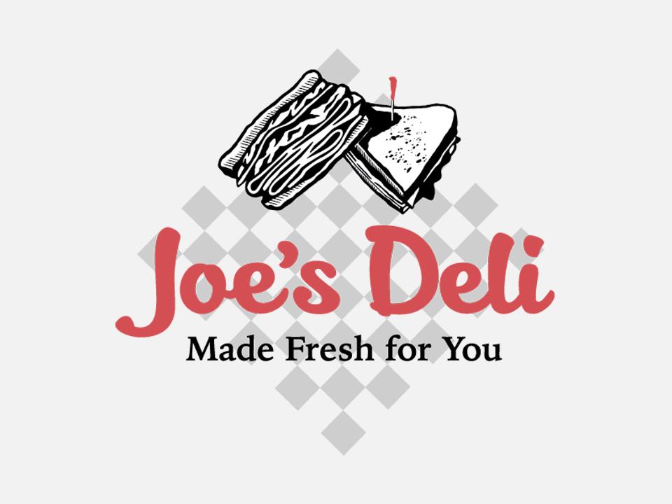 Logo design, Deli Logo, Made Fresh For You, tagline, sandwich