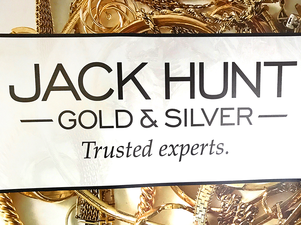 Logo Design, Marketing, Jack Hunt Gold and Silver, Trusted experts, branding