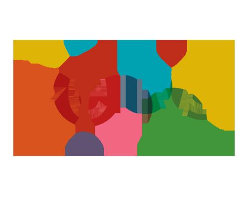 Logo Design, Kellys, Branding, Visual Identity, Colorful logo