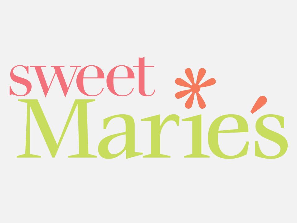 Logo design, branding, dessert, Sweet Marie's
