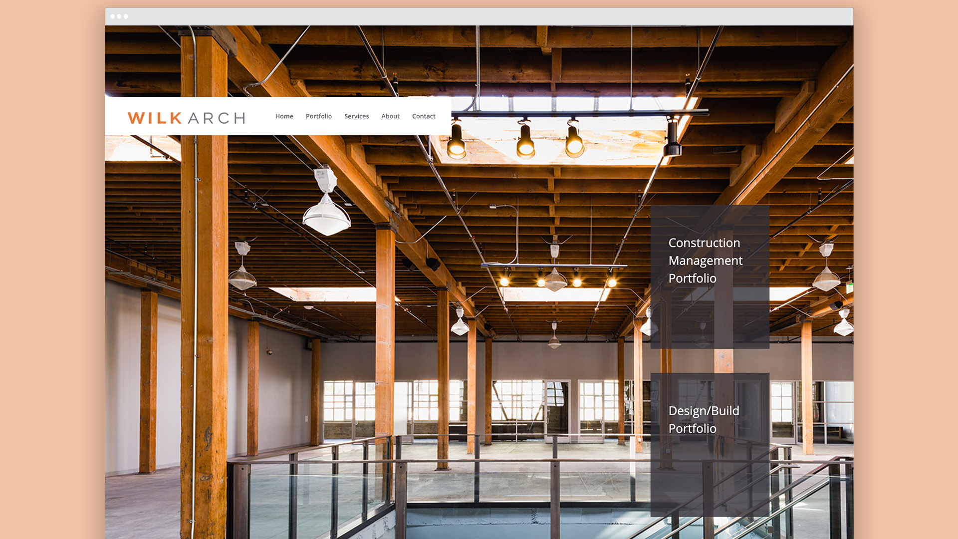 Architect, website design, logo design, branding, construction management