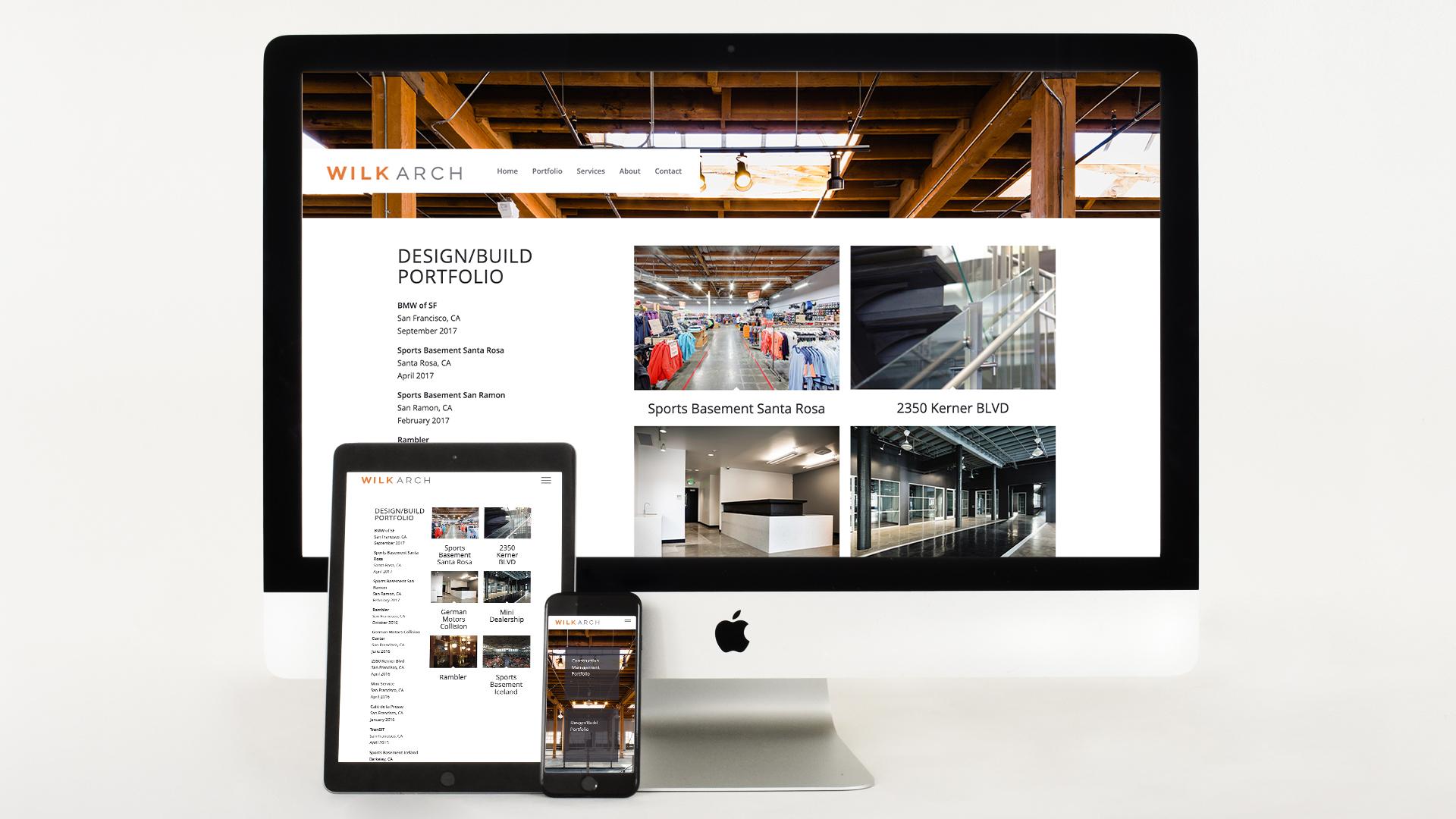 Architect, Mobile responsive, website design, logo design, branding, construction management