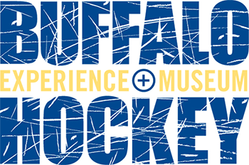 Buffalo Hockey Experience + Museum, logo design, exhibit
