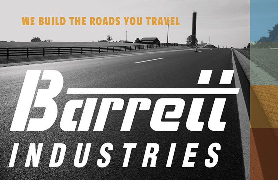 Barrett Industries, Portfolio Entry, Custom Website, Stationery Design