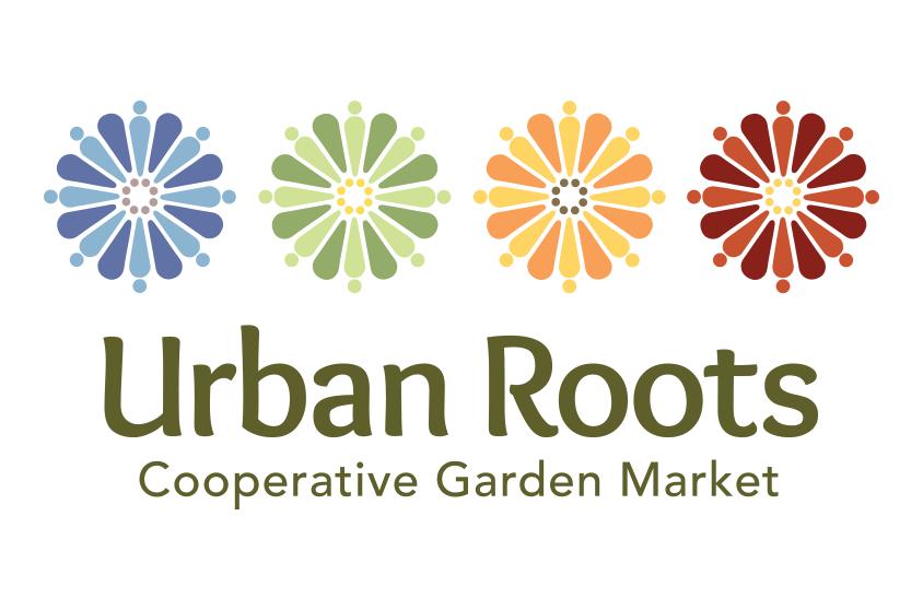Urban Roots, Cooperative Garden Market, Buffalo NY, Logo Design, identity