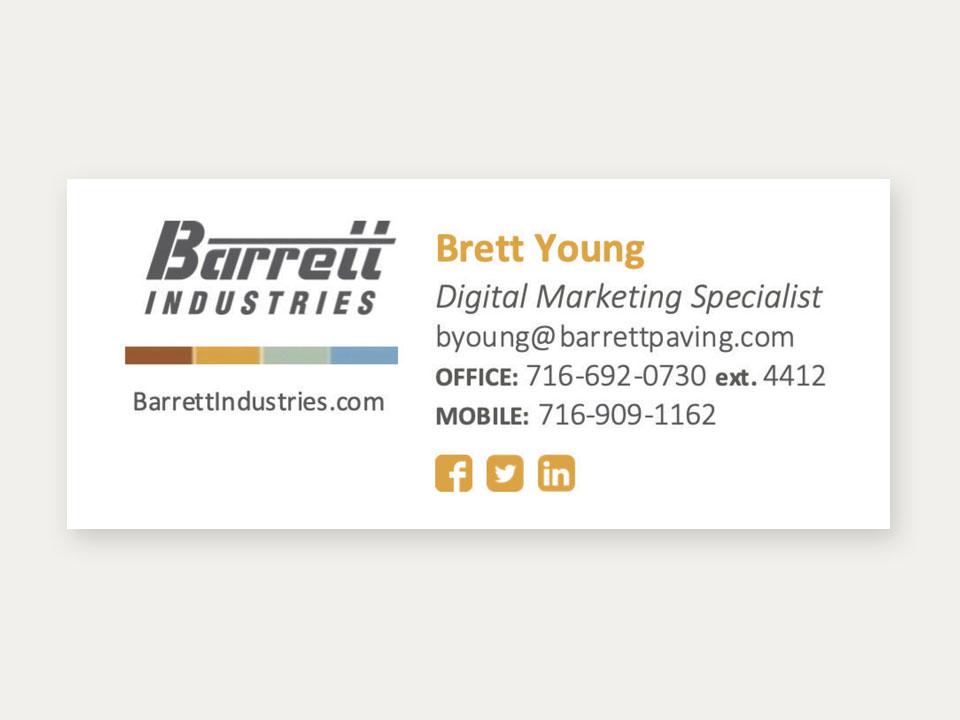 Email Signature, Marketing, Graphic Design