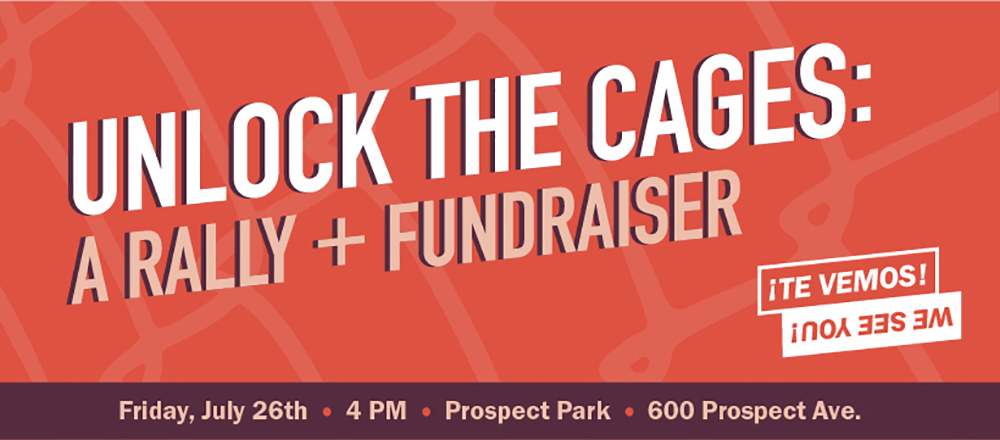 Unlock The Cages: A Rally & Fundraiser, Social media graphics created for the ¡Te Vemos! event
