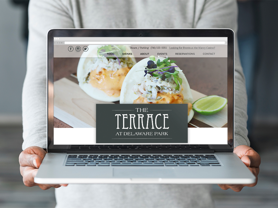 Web Design, Restaurant Branding, Vintage Style, Graphic Design