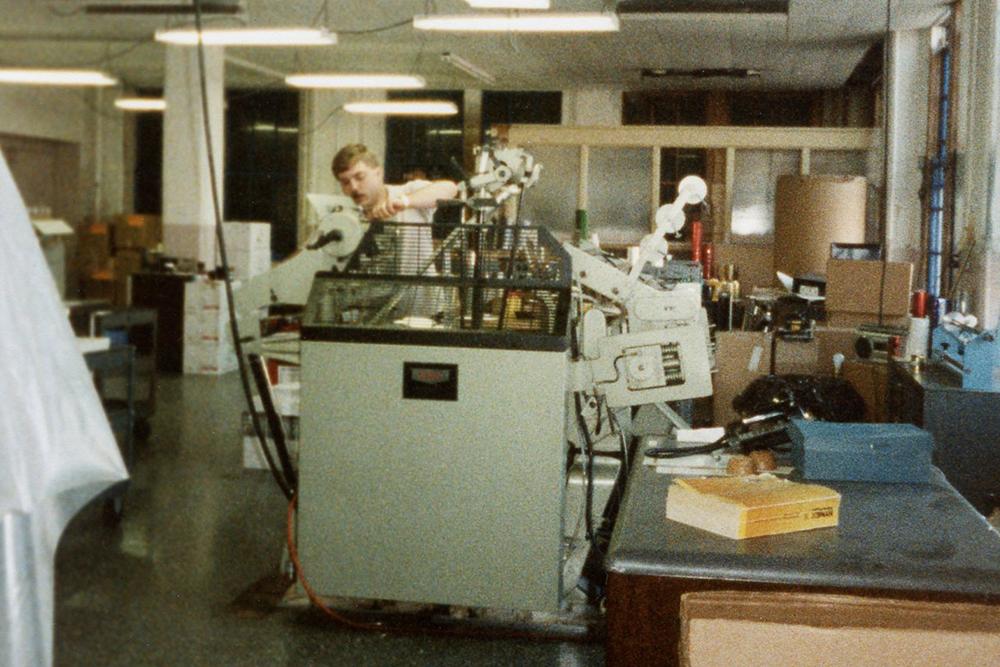 Buffalo New York printing history. Bates Jackson Engravers, 1989.