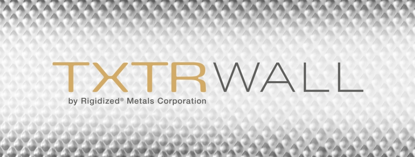Brand Identity of the TXTRWall Logo designed by OtherWisz Creative superimposed on top of Rigidized's 6WL pattern