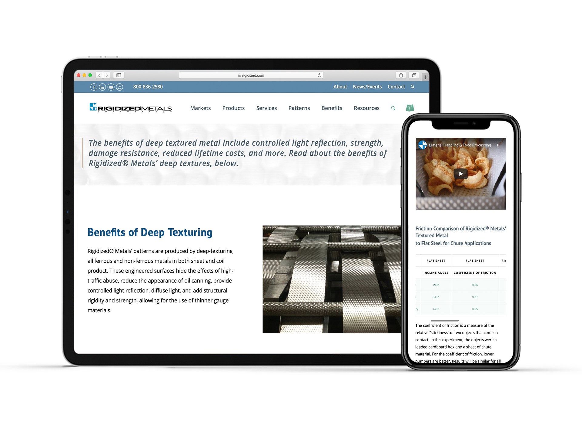 OtherWisz Creative offers responsive website design services, creating mobile-friendly sites for your business